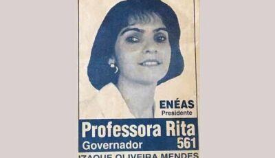Rita de Cássia Lima: A primeira Mulher a disputar o Governo de MS