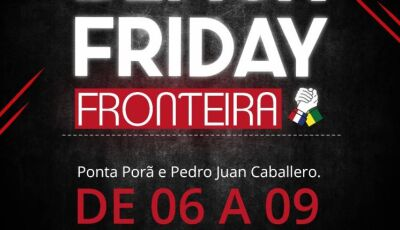 Black Friday Fronteira movimenta economia com descontos de até 50%