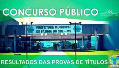 FAPEC divulga resultado da prova de títulos do Concurso Público da Prefeitura de Fátima do Sul