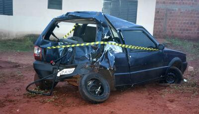 Morador em Culturama e vitima de acidente na MS-376 em Vicentina