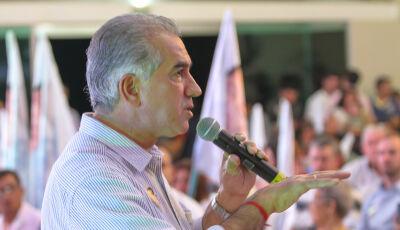 Em Fátima do Sul, Reinaldo afirma que obra do asfalto de Culturama começa dia 10 de setembro