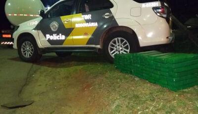 Douradense é preso em São Paulo com estepes de carreta recheados de maconha