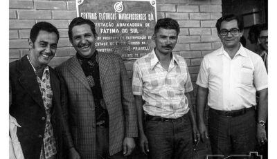Fátima do Sul e o seu dia histórico da chegada da 'energia elétrica' há quase 45 anos atrás