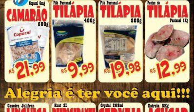 Confira as promoções da Sexta do Peixe do Mercado Julifran em Fátima do Sul