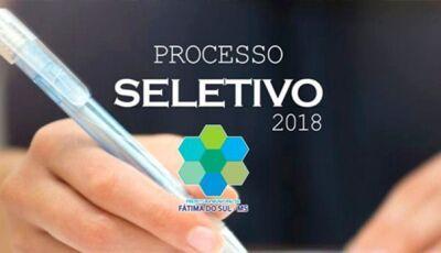 Após análise de recursos, Pref. de Fátima do Sul divulga classificação final de Processo Seletivo