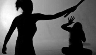 Adolescente agride a própria mãe com socos e a ameaça de morte com faca