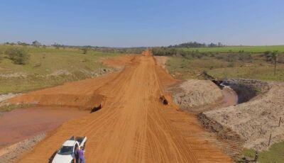 JATEÍ: Com trabalho forte na zona rural, prefeitura finaliza ações na Linha do Caraguatá