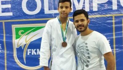 Karatecas de Fátima do Sul e Vicentina conquistam 18 medalhas na 2ª Etapa do Estadual de Karatê
