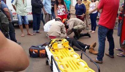 Após acidente, motorista foge sem prestar socorro em Batayporã
