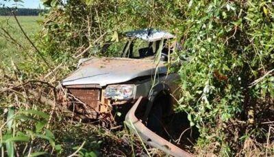 Morador de Nova Andradina sofre acidente entre Ivinhema e Deodápolis