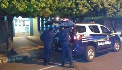 Agência Fazendária de Nova Andradina é arrombada; um jovem foi preso pela Polícia Militar