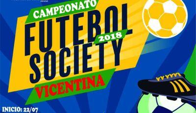 Confira quem estará em campo pela 4ª rodada do Campeonato de Futebol Society de Vicentina