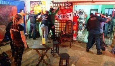 """Operação """"Forças Unidas"""" nas ruas pelas Policias Civil e Militar fecham 2 bares em Ivinhema"""