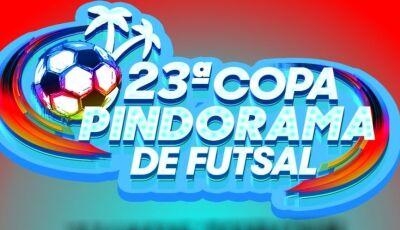 Vicentina estreia nesta sexta na 23ª Copa Pindorama de Futsal com rodada em Jateí