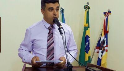 Glória de Dourados: Miltinho pede recuperação da Rua Cervo, que dá acesso ao aeroporto municipal