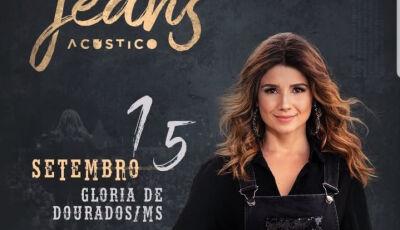 Paula Fernandes em contagem regressiva para o 'showzaço' em Glória de Dourados