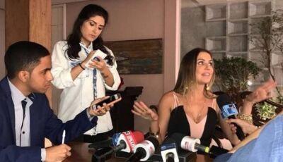 'Segundo sol': Karola diz a jornalistas que foi enganada por Beto