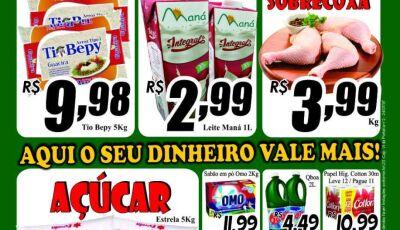 Confira as ofertas que vão de 04 à 08 de setembro no Mercado Julifran em Fátima do Sul