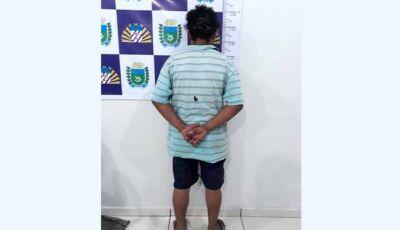 Pai e filho são presos pela Polícia Militar, após homem ser esfaqueado no pescoço em bar
