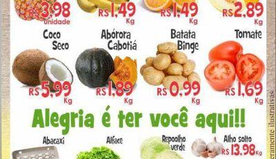 """""""Quarta Verde"""" com grandes promoções no Mercado Julifran em Fátima do Sul"""
