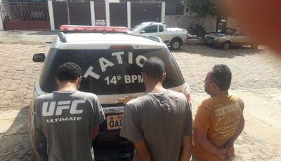 Acusados de furto em Angélica são presos em Glória de Dourados, alvo seria a lotérica em Deodápolis