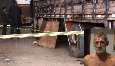 IVINHEMA: Homem morre enroscado no cardam de caminhão