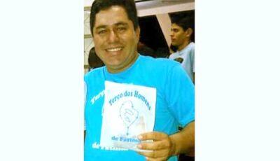 """Amigos se despedem do """"Nadinha"""" funcionário da Mais Móveis de Fátima do Sul"""
