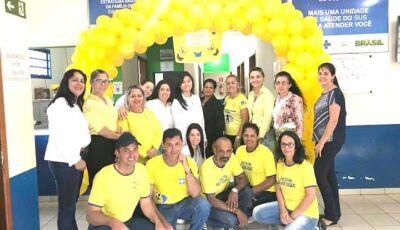 UBS de Culturama participa da Campanha Internacional em Prevenção ao Suicídio.