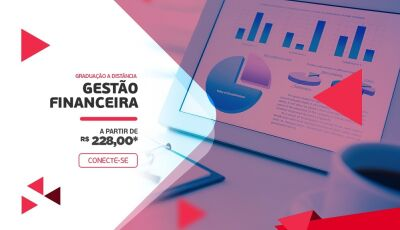 Graduação a Distância em Gestão Financeira agora na UNIPAR EAD em DOURADOS