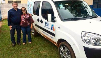 JATEÍ: Eraldo entrega mais um veículo à Saúde para atendimento do Distrito da Gleba Nova Esperança