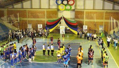 Com 9 equipes participantes, foi aberto o II Campeonato de Futsal Municipal em Jateí