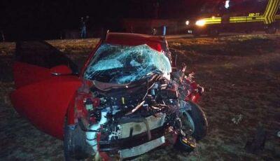 Acidente entre ônibus, caminhão, carreta e carro e deixa feridos em Dourados