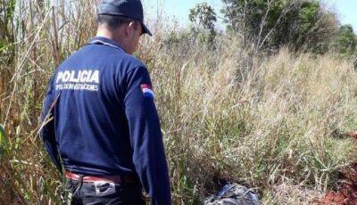 Brasileiro foragido da justiça é morto a tiros em estrada na fronteira