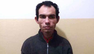 Morador flagra ladrão e aciona a polícia que consegue prende-lo
