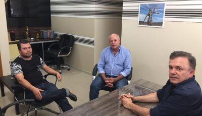 Em Campo Grande, Prefeito Valdir e Antonio Carlos solicitaram emenda para o distrito de Lagoa Bonita
