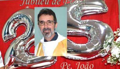 Comunidade de Fátima do Sul  comemorou Jubileu de Prata do Pe. João Bergamasco no RS