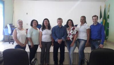 Prefeito empossa novos membros do Conselho de Assistência Social em Jateí