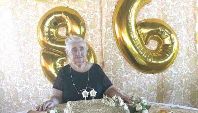 Pioneira de Fatima do Sul completa 86 anos com presença de irmã que não via a 50 anos
