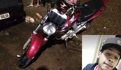 Motoqueiro colide em Hilux e Gol em acidente fatal em Ivinhema