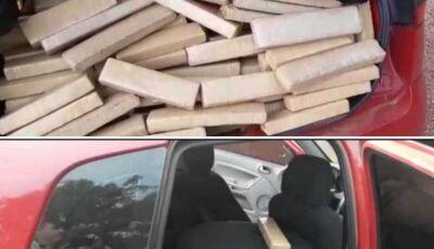 Veículo que saiu de Campo Grande (MS) com meia tonelada de maconha é preso em Goiás