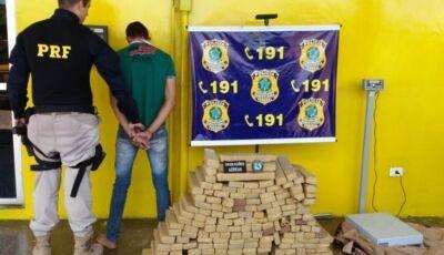 Deodapolense é preso com 165 kg de maconha em Cuiabá MT