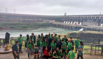 Fatimassulenses: Estudantes da Escola Vicente Pallotti realizaram viagem pedagógica à Foz do Iguaçu