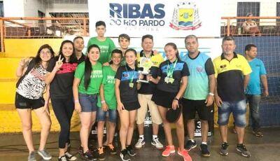 Fátima do Sul Sagra-se vice campeã no Jems em Ribas do Rio Pardo