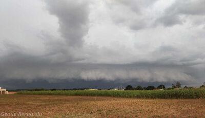 VICENTINA registra marca de 457mm de chuva neste mês, previsão é de mais chuva até domingo