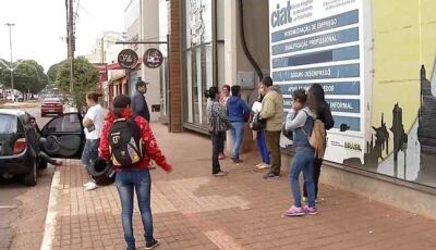 Casa do Trabalhador oferece 47 oportunidades de emprego em Dourados