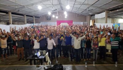Vicentina abraça campanha à reeleição de Reinaldo Azambuja ao governo do MS