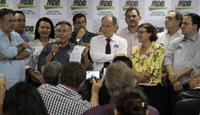 MDB oficializa apoio a Odilon de Oliveira no segundo turno em Mato Grosso do Sul