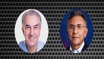 Pesquisa do 2º turno para governador do MS indica Reinaldo com 54%, veja números