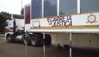 Carreta da Justiça atenderá população no mês de novembro em Jateí