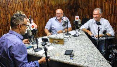 Reinaldo pede apoio de Bolsonaro para proteger as fronteiras de MS